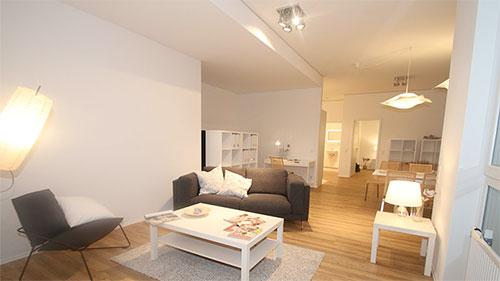 Städtischer Wohnraum mit idealen Rahmenbedingungen