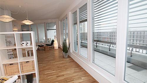 Penthousewohnungen im Zentrum von Hanau
